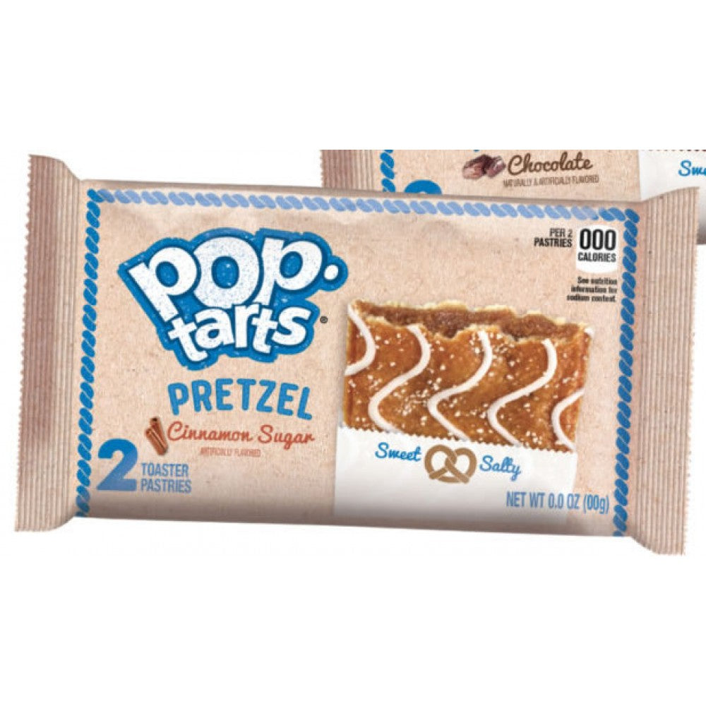 Kellogg's Pop Tarts Pretzel: Cinnamon Sugar (2 pack) - A Taste of the States