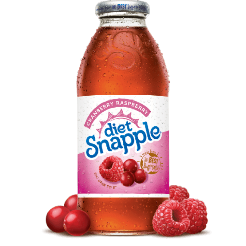 Snapple Diet Cranberry Raspberry 16oz (473ml) - A Taste of the States