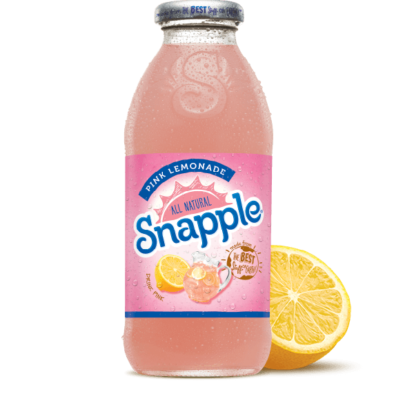 Snapple Pink Lemonade 16oz (473ml) - A Taste of the States