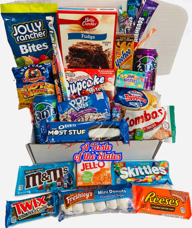 The Stay Home Snack Box - A Taste of the States