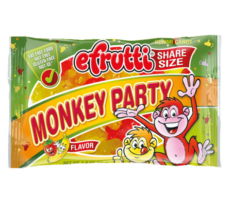E-Frutti Monkey Party Gummies (1.8oz bag) - A Taste of the States