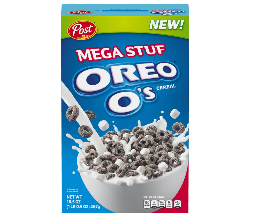 Oreo O's Cereal: MEGA Stuf (16.5oz) - A Taste of the States