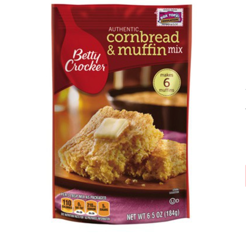 Betty Crocker Authentic Cornbread & Muffin Mix (184g) - A Taste of the States