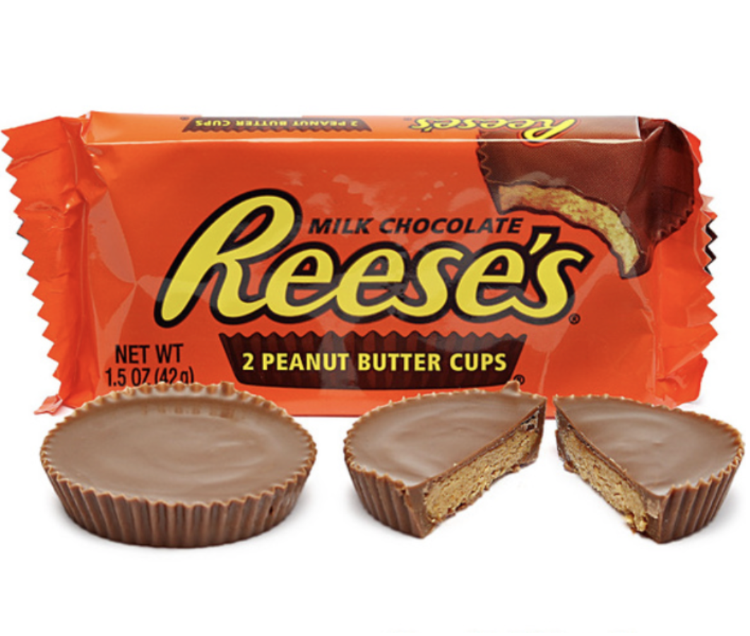 Reese's 2 Peanut Butter Cups (42g) - A Taste of the States
