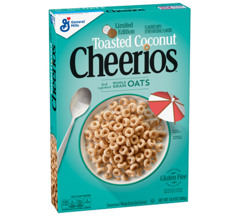 Cheerios Toasted Coconut Cereal 10.8oz (306g)