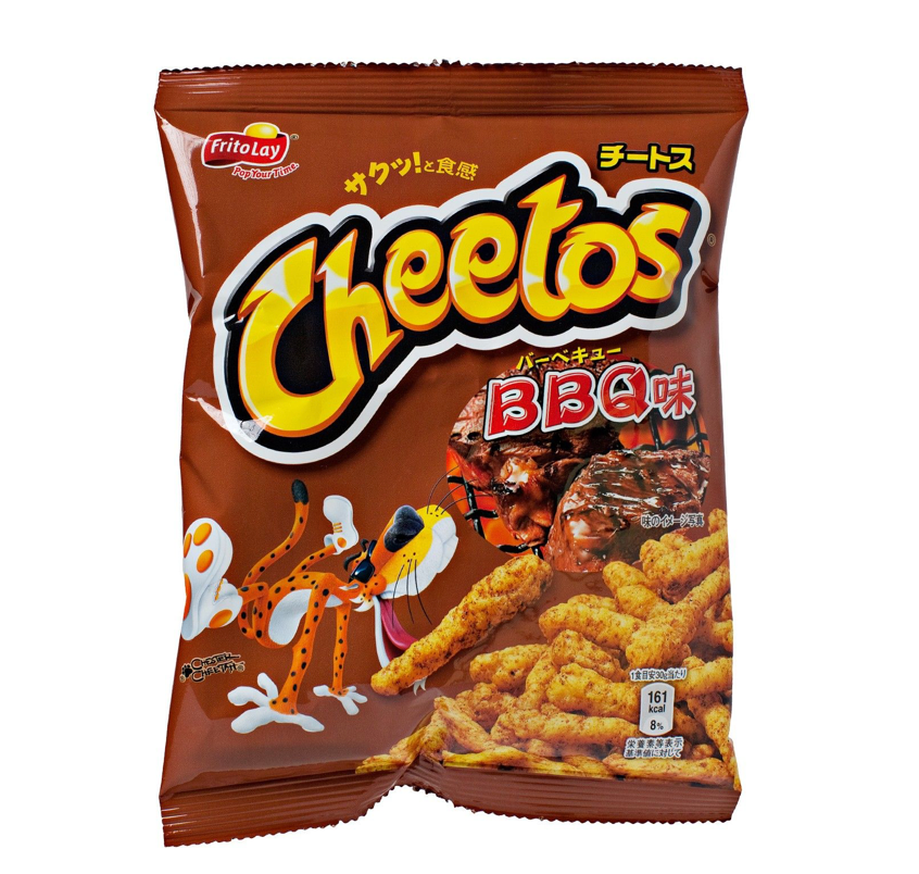 Frito-Lay Cheetos BBQ (Japanese) (75g) - A Taste of the States