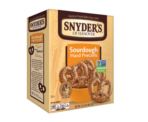 Snyder's Sourdough Pretzels: Big Box (13.5oz)
