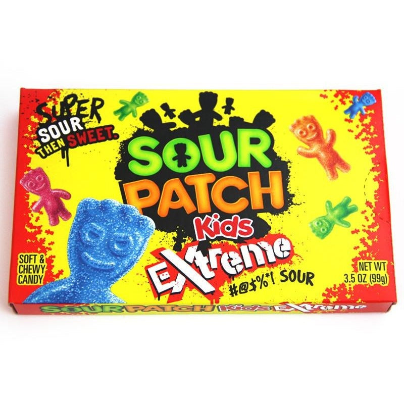 Sour Patch Kids Extreme Theater Box (3.5oz) - A Taste of the States