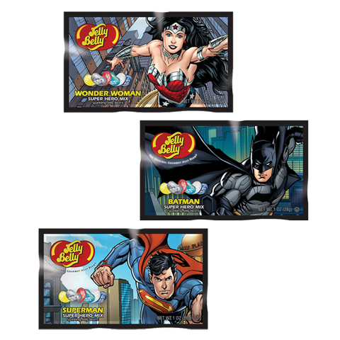 Jelly Belly Superhero Justice League Beans (1oz Box) - A Taste of the States