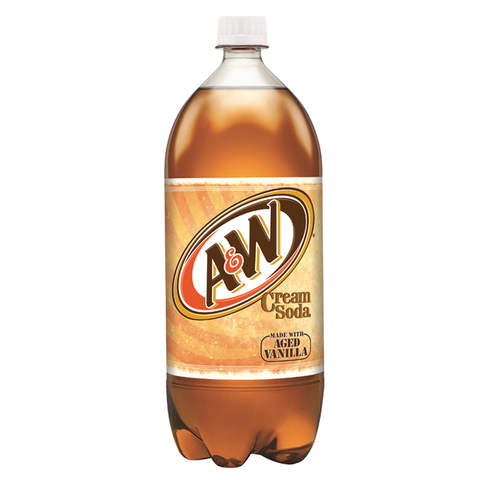 A&W Cream Soda (2 Litre Bottle) - A Taste of the States
