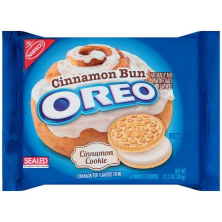 (BB 24.5.18) OREO Cinnamon Bun (Limited Edition) 12.2oz - A Taste of the States