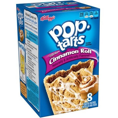 Kellogg's Pop Tarts Cinnamon Roll (8 pack) - A Taste of the States