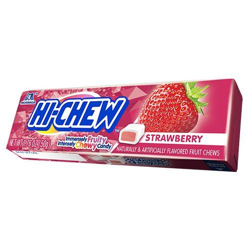 Hi-Chew Fruit Chews Strawberry (50g) - A Taste of the States