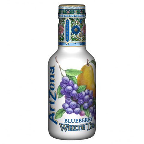 Arizona Blueberry White Tea (500ml Bottle)