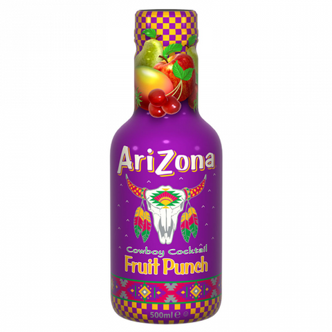 Arizona Cowboy Cocktail: Fruit Punch (500ml Bottle) - A Taste of the States