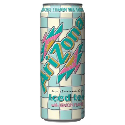 Arizona  Iced Tea with Lemon (23oz) - A Taste of the States