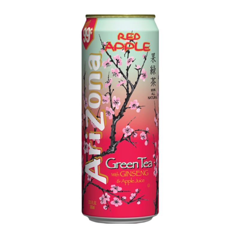 Arizona Red Apple Green Tea (XL 23oz can) - A Taste of the States