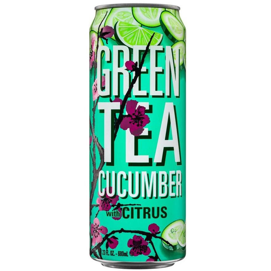 Arizona Green Tea Cucumber with Citrus (XL 23oz Can) - A Taste of the States