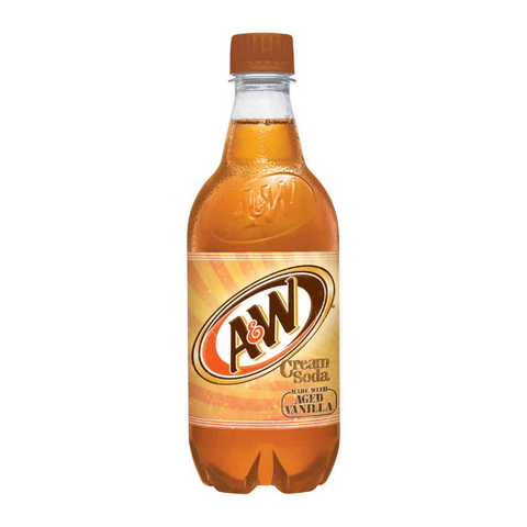 A&W Cream Soda (20fl.oz Bottle)