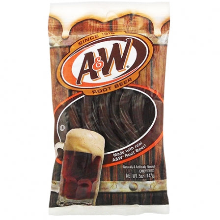A&W Root Beer Twists (5oz) - A Taste of the States