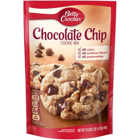 Betty Crocker Chocolate Chip Cookie Mix (17.5oz) - A Taste of the States