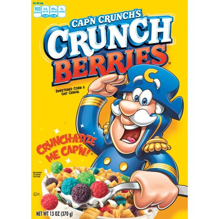[CLEARANCE: BB 15.07.18] Cap'n Crunch Berries Cereal (13oz)