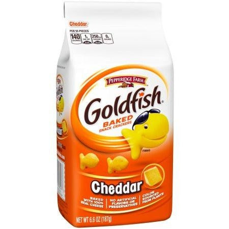Goldfish Crackers Cheddar Cheese (6.6oz) - A Taste of the States