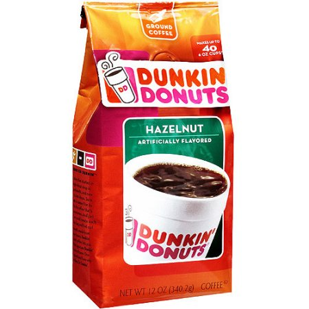 Dunkin' Donuts Hazelnut Ground Coffee (12oz) - A Taste of the States