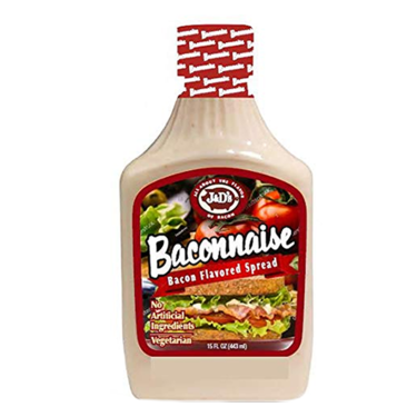 J&D's Original Baconnaise Spread (15oz) - A Taste of the States