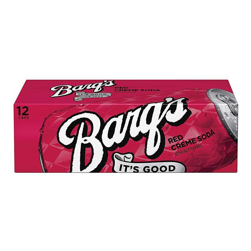 Barq's Red Crème Soda Fridge Pack (12 x 12fl.oz) - A Taste of the States