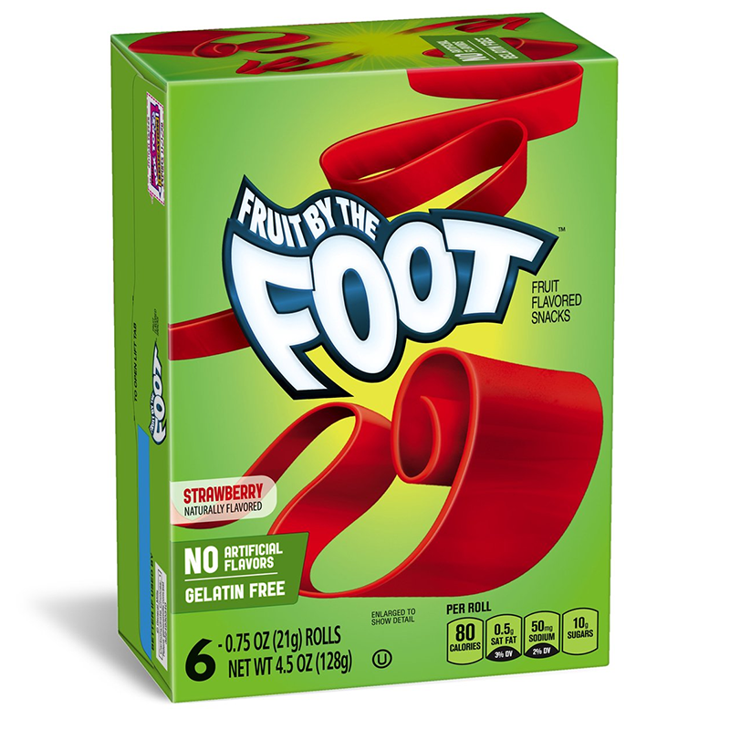Betty Crocker Fruit by the Foot: Strawberry (6 rolls)