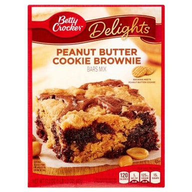 Betty Crocker Supreme Peanut Butter Brownie Mix (488g) - A Taste of the States