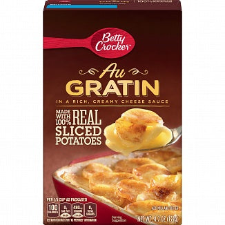Betty Crocker Au Gratin Potatoes 4.7oz (133g)