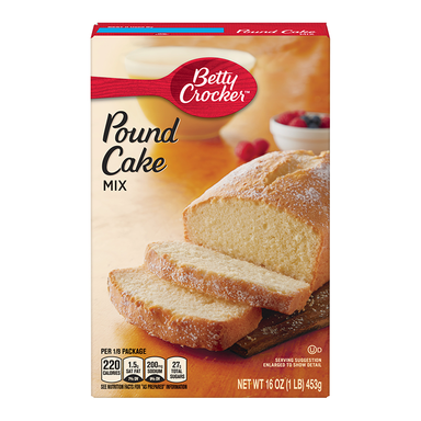 Betty Crocker Pound Cake Mix (453g) - A Taste of the States