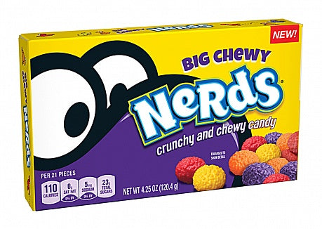 Wonka Big Chewy Nerds Theatre Box (4.25oz) - A Taste of the States