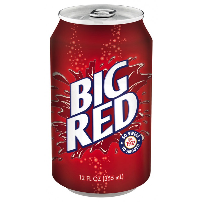 American Big Red Soda (12fl.oz) - A Taste of the States
