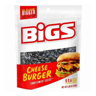 BIGS Sunflower Seeds: Cheeseburger (5.35oz) - A Taste of the States