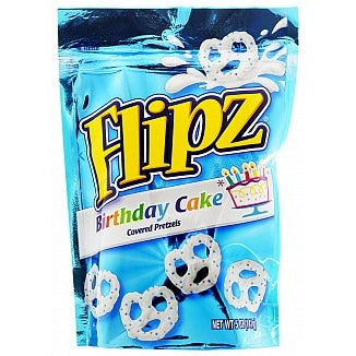 Flipz (Birthday Cake Pretzels) 5oz - A Taste of the States