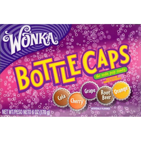 Wonka BottleCaps Big Box (170g) - A Taste of the States