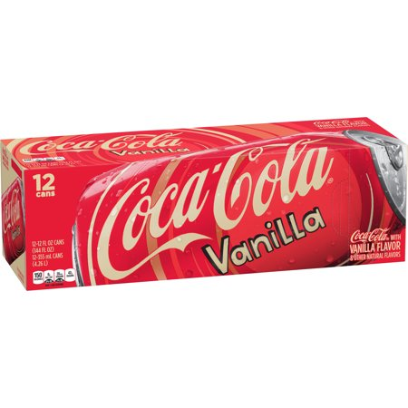 Coca-Cola Vanilla USA Fridge Pack (12 cans) - A Taste of the States