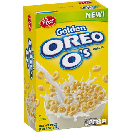 Golden Oreo O's Cereal (481g) - A Taste of the States