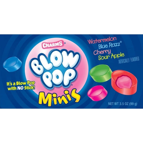 Blow Pop Mini's Theater Box (3oz) - A Taste of the States