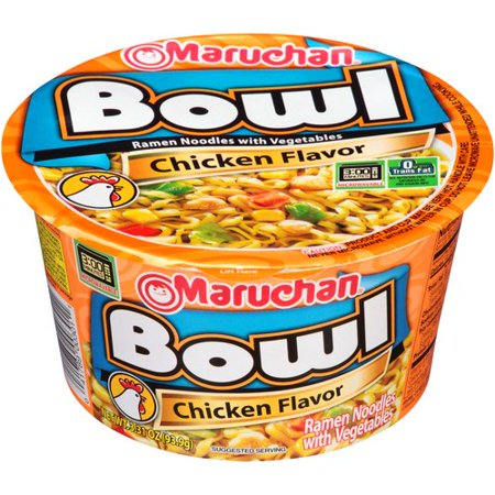 Maruchan Bowl Noodles | Chicken (3.3oz) - A Taste of the States