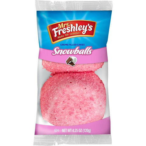 Mrs Freshleys Pink Snowballs (twin pack)
