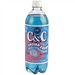 C&C Cotton Candy Soda (24fl.oz) - A Taste of the States