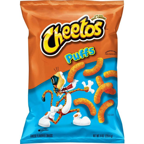 Frito-Lay Cheetos Puffs (Original USA Import) 9oz - A Taste of the States