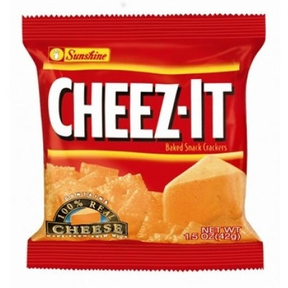 Cheez-It Original Crackers (42g) 1.5oz - A Taste of the States