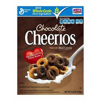 Cheerios Chocolate Cereal (318g) - A Taste of the States