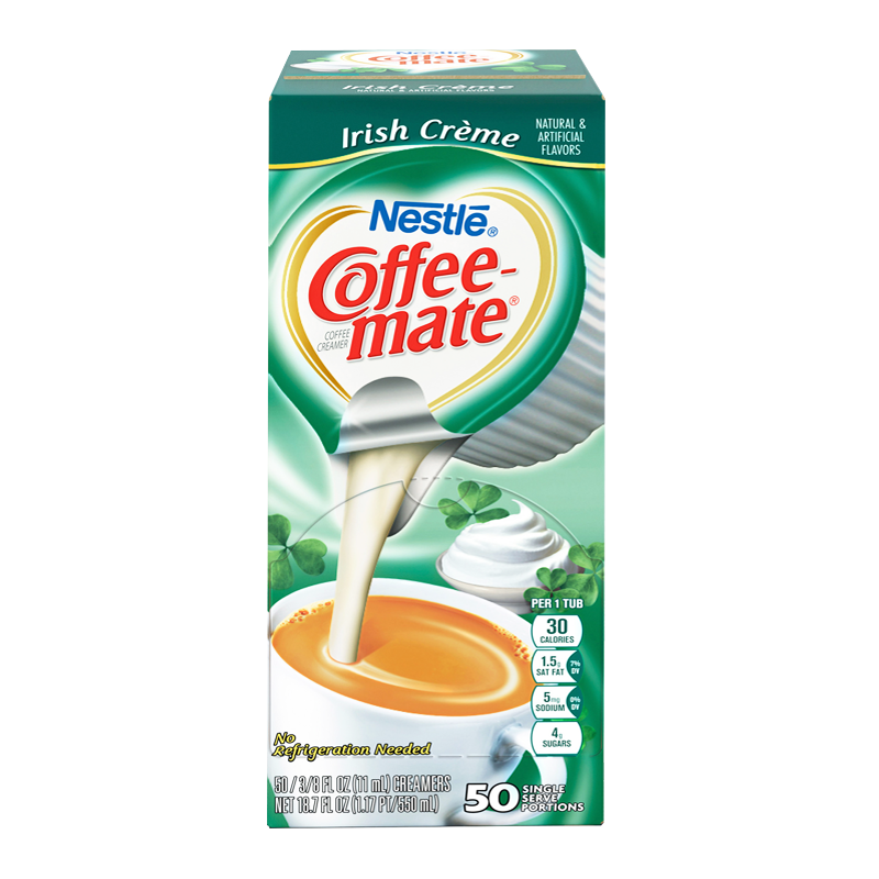 Nestle Coffee-Mate Irish Creme (SINGLE SERVE)