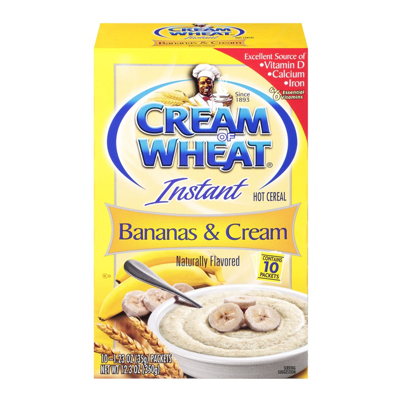 Cream of Wheat®: Instant Bananas & Cream Hot Cereal (12.3oz) - A Taste of the States